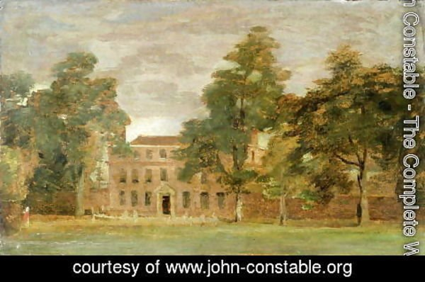 John Constable - West Lodge, East Bergholt