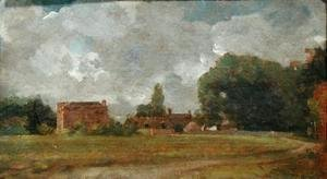 John Constable - Golding Constable's House, East Bergholt  The Artist's birthplace