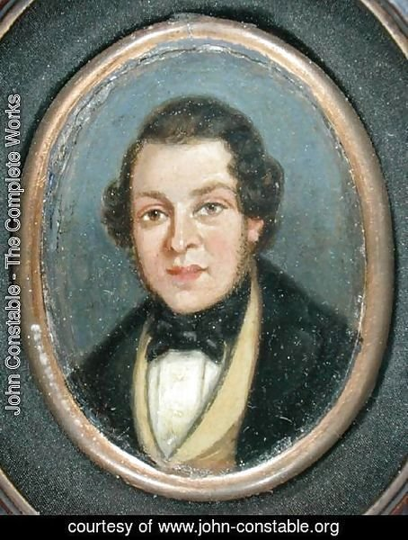 Portrait of Abram Constable (1783-1862)