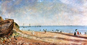 John Constable - Brighton Beach