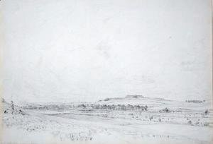 John Constable - Old Sarum at Noon, 1829