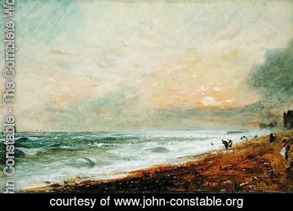 John Constable - Hove Beach, c.1824