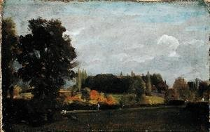 John Constable - East Bergholt, 1808