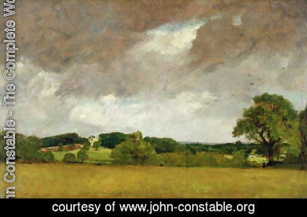 John Constable - Malvern Hall from the South-West, 1809