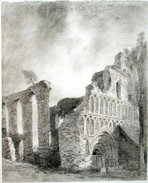 John Constable - Ruin of St. Botolph's Priory, Colchester, c.1809