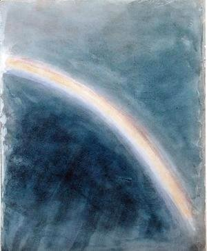 John Constable - Sky Study with Rainbow, 1827