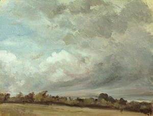 John Constable - Cloud Study, 1821 (2)
