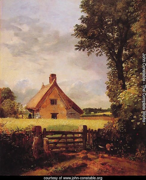 A Cottage in a Cornfield, 1817