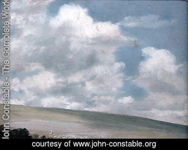John Constable - The Downs near Brighton
