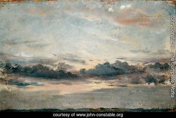 A Cloud Study, Sunset, c.1821