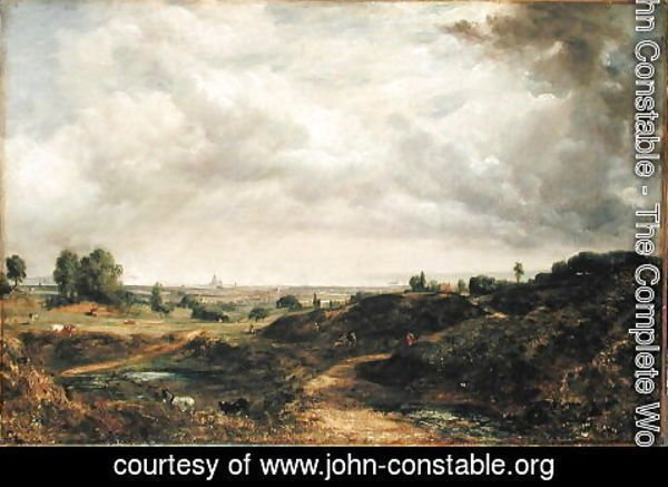 John Constable - Hampstead Heath 2