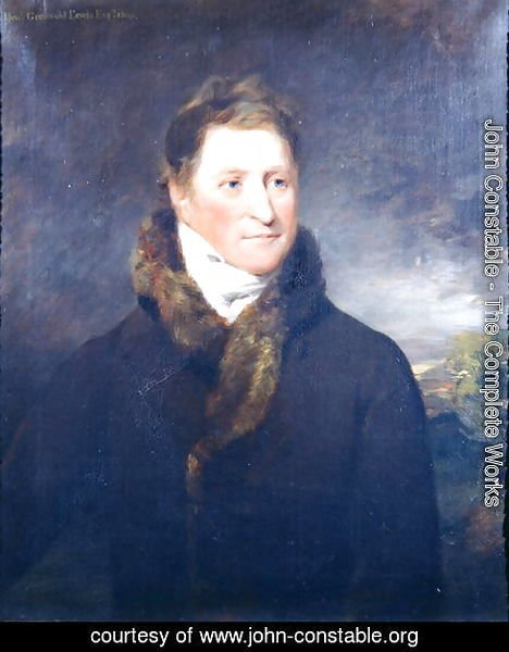 Portrait of Greswold Lewis (d.1819) of Malvern Hall, Warwickshire