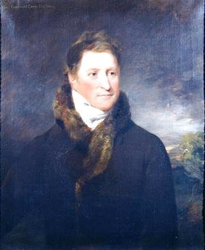 John Constable - Portrait of Greswold Lewis (d.1819) of Malvern Hall, Warwickshire