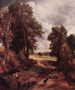 John Constable - The Cornfield, 1826