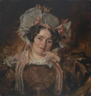 John Constable - Portrait of a Woman, c.1818