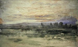 John Constable - View from Hampstead, 1833