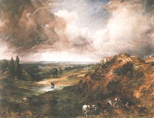 John Constable - Branch Hill Pond, Hampstead Heath, 1828