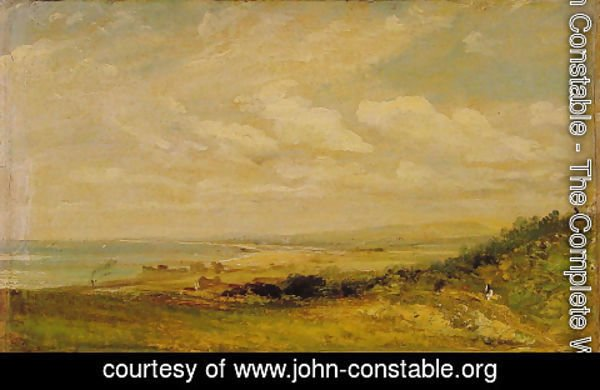 John Constable - Shoreham Bay near Brighton, 1824