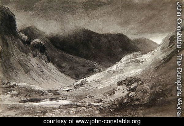 The vale of Newlands: A very stormy afternoon, 1806