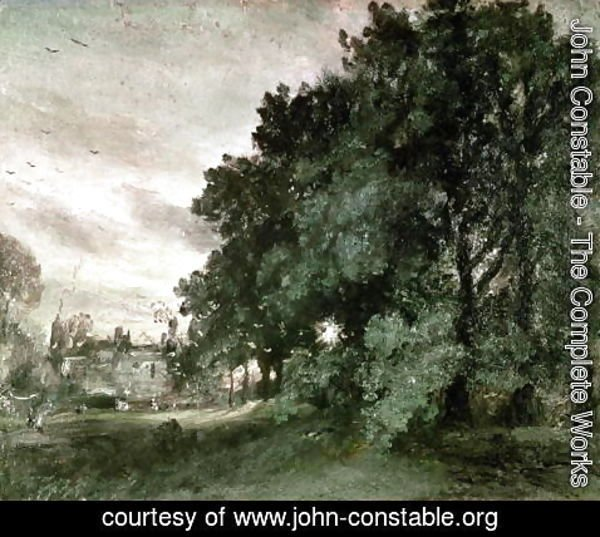 John Constable - Study of Trees