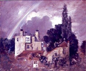 John Constable - The Grove or Admiral's House, Hampstead, c.1821-22