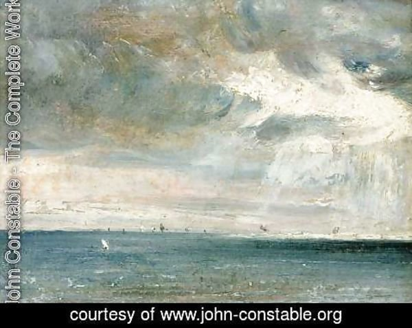 John Constable - Study of Sea and Sky ( A Storm off the South Coast)
