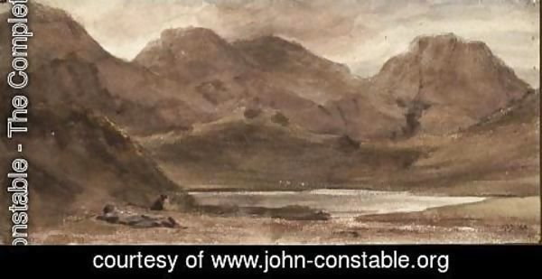 John Constable - Sty Head Tarn, 12th October 1800