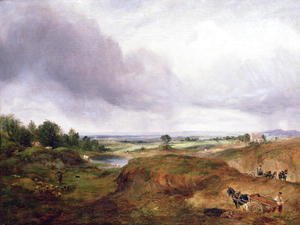 John Constable - Hampstead Heath 3