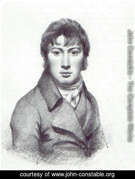 John Constable - Self Portrait