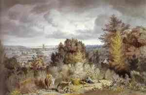 John Constable - Dedham Church and Vale