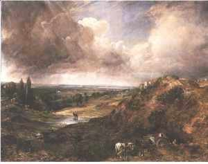 John Constable - Branch Hill Pond, Hampstead Heath