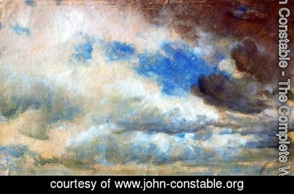 John Constable - Cloud study 5