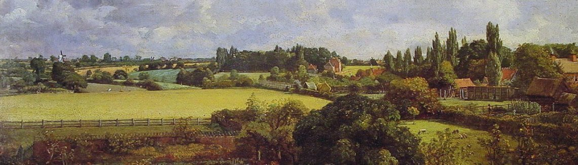 John Constable - Golding Constable's Kitchen Garden