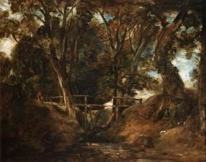 John Constable - Helmingham Dell