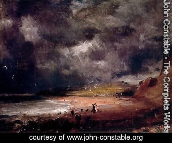 John Constable - Sketch for Weymouth Bay