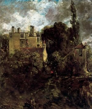John Constable - The Admiral's House (The Grove)