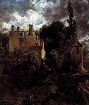 John Constable - The Admiral's House (The Grove) 2