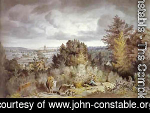 John Constable - Dedham Hurch And Vale 1800