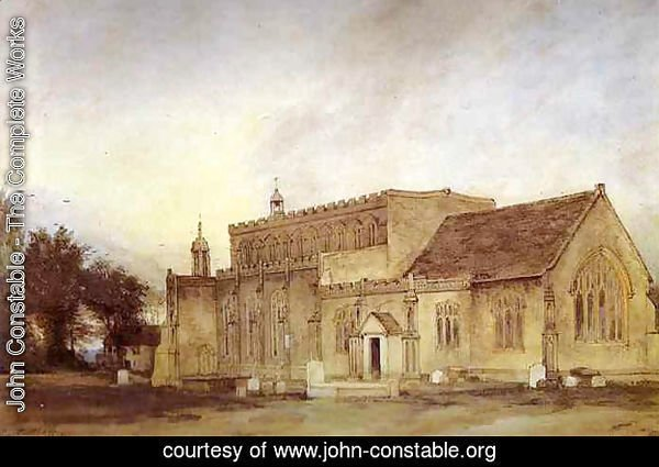 East Bergholt Church 1811