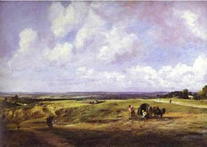 John Constable - Hampstead Heath 1820