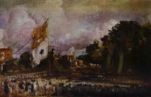 John Constable - Holiday Of Waterloo In East Bergholt