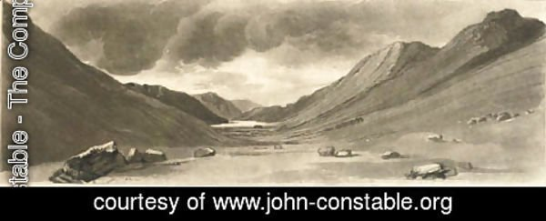 John Constable - Leathes Water (Thirlmere), by Henry Dawe