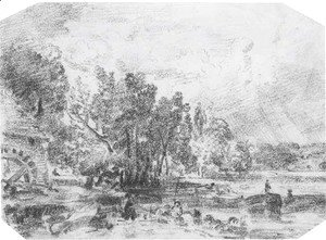 John Constable - Stratford Mill, Suffolk