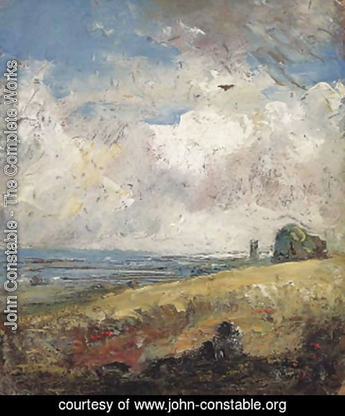 John Constable - The Skylark, Dedham