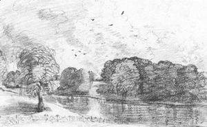John Constable - Wivenhoe Park, Essex 2