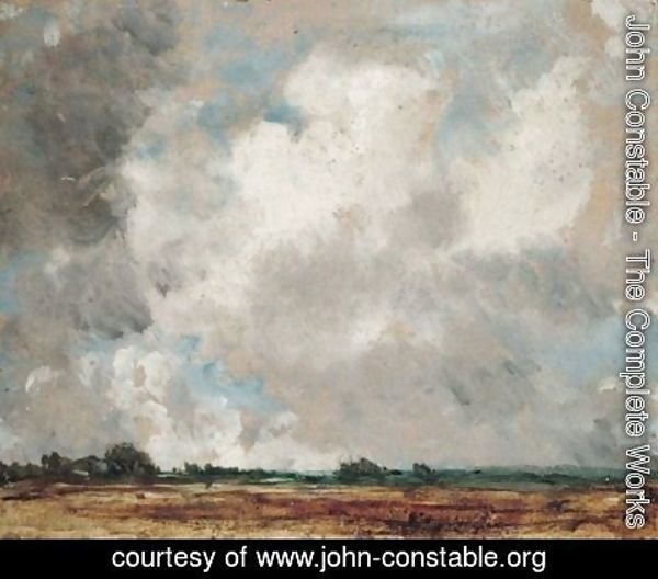 John Constable - The Complete Works - Cloud Study 3 - john