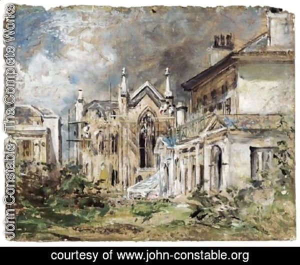 John Constable - The Gothic House, Sillwood Place, Brighton