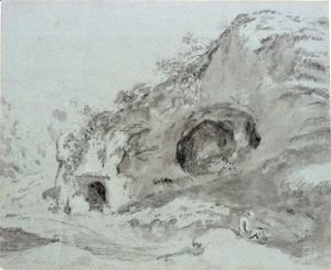 John Constable - Dove Hole, Derbyshire