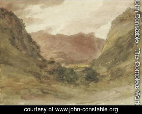 John Constable - View In Borrowdale 4