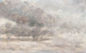 John Constable - Cloud Study 4